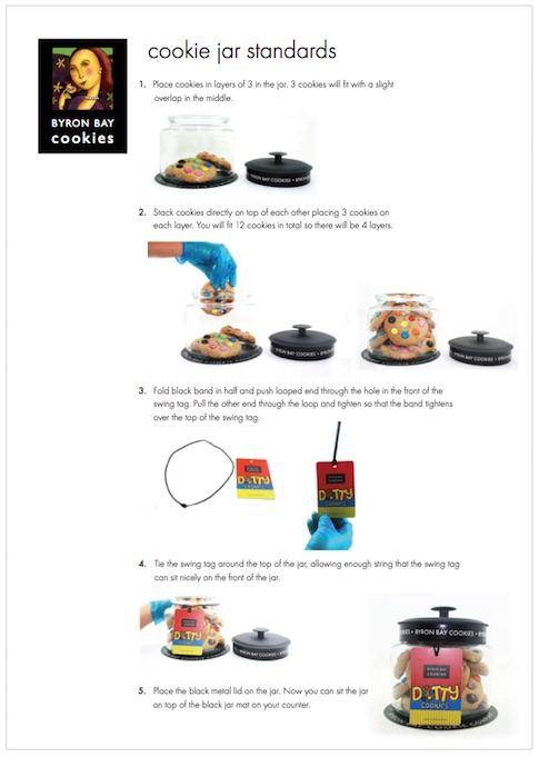 Byron Bay Cookie Jar Merchandising Standards