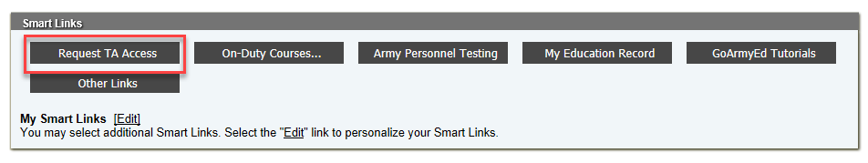Smart Links with Request TA Access highlighted