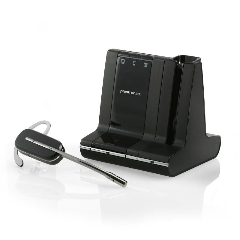 plantronics savi w740 usb pc wireless headset uc Skype compatible