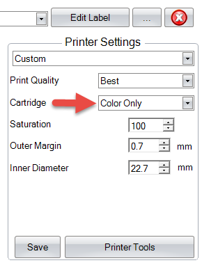 Can I Print With Only A Color Cartridge Installed Using Bravo II Or XR