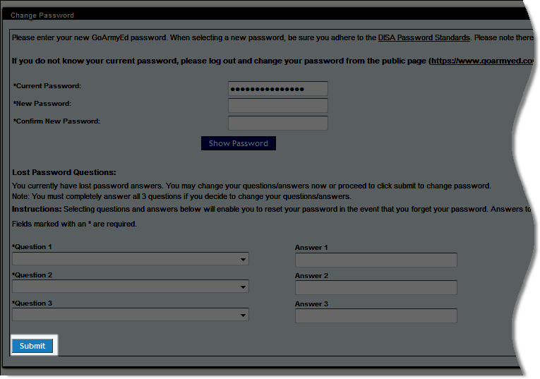You Can Select Sign In Or Will Be Redirected To Your Goarmyed Homepage