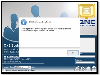 How to activate the evaluation key in QNE Optimum